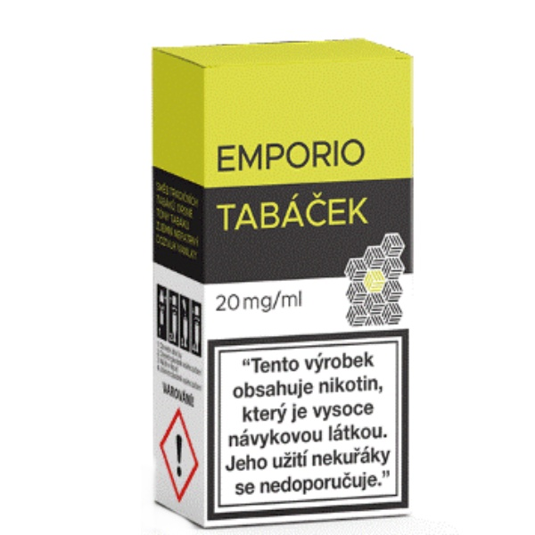 EMPORIO SALT Tabáček 20mg/10ml