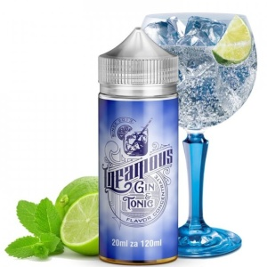 INFAMOUS Special 20ml Gin & Tonic + Lime infused