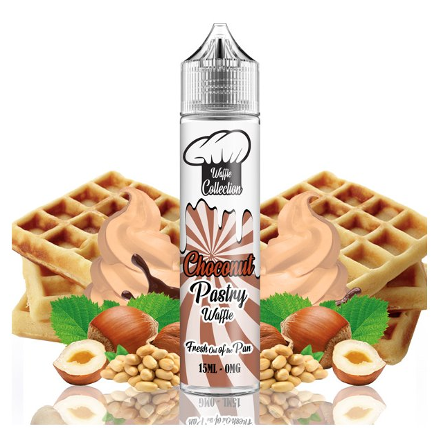 Waffle Collection Shake and Vape 15ml Choconut Pastry