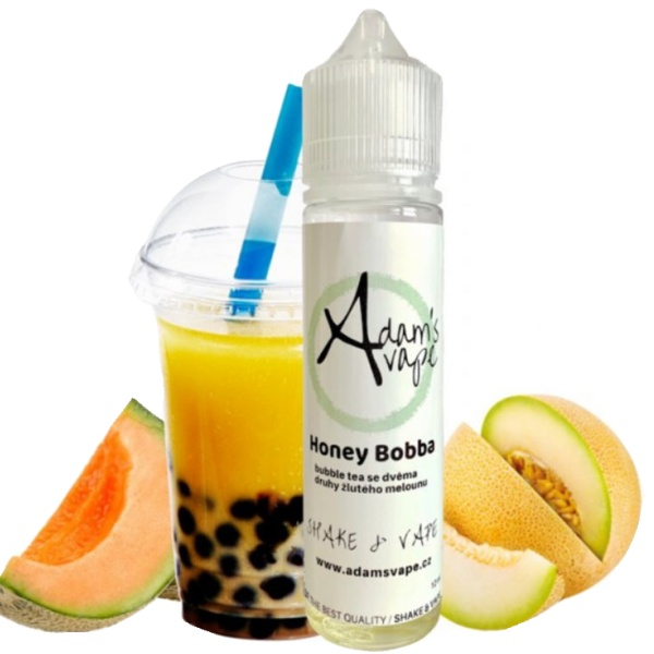 Adams vape Shake and Vape 12ml Honey Bobba