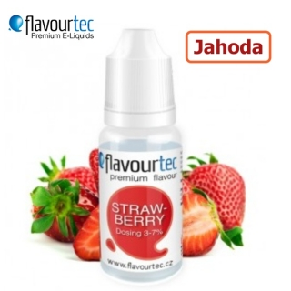 Flavourtec Jahoda (Strawberry) 10ml