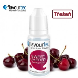 Flavourtec Třešeň (Sweet Cherry) 10ml