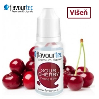 Flavourtec Višeň (Sour Cherry) 10ml