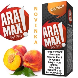 Liquid ARAMAX Max Peach 10ml/18mg