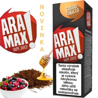 Liquid ARAMAX Sahara Tobacco 10ml/18mg
