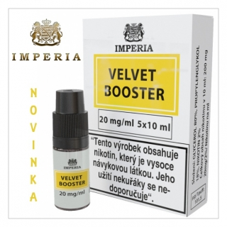 Booster báze Imperia Velvet (20/80) 20mg / 5x10ml