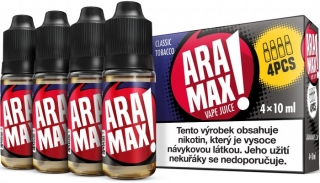Liquid ARAMAX Classic Tobacco 4x10ml / 3mg