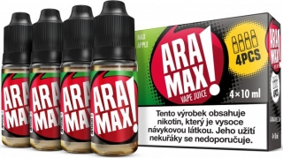 Liquid ARAMAX MAX APPLE 4x10ml / 3mg