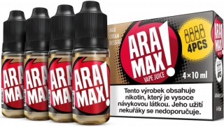 Liquid ARAMAX MAX CREAM DESSERT 4x10ml / 3mg