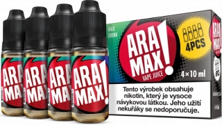 Liquid ARAMAX MAX DRINK 4x10ml / 3mg
