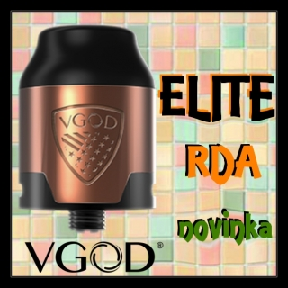 VGOD ELITE RDA 2ml Měděný