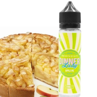 Dinner Lady Shake and Vape Apple Pie 20ml